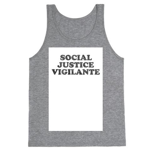 Social Justice Vigilante Tank Top