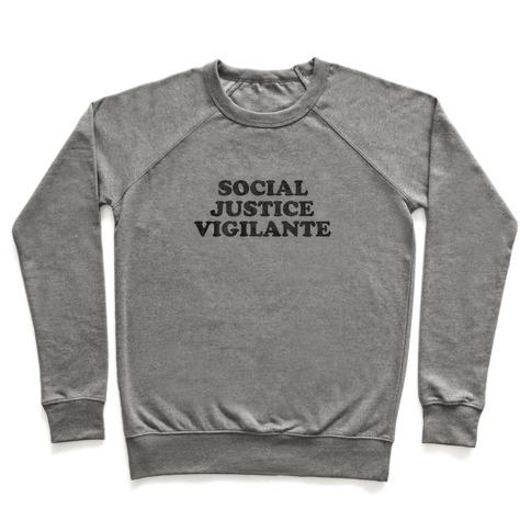 Social Justice Vigilante Pullover