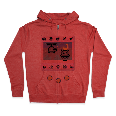 Digital Pet Zip Hoodie