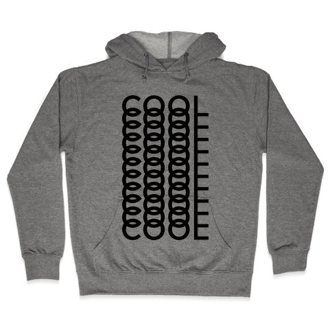 Cool Shirt Hooded Sweatshirt