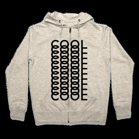 Cool Shirt Zip Hoodie