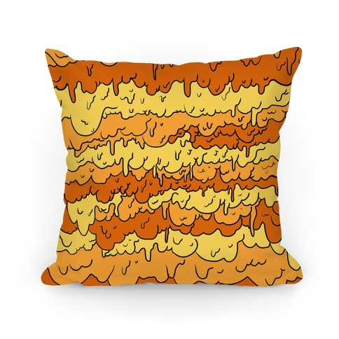 Slimy Yellow Pillow Pillow