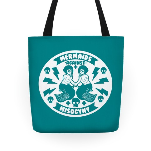 Mermaids Against Misogyny Tote