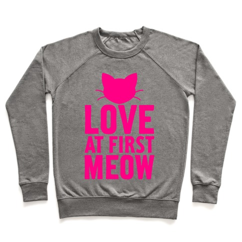 Love At First Meow Pullover