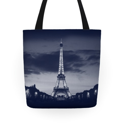 Eiffel Tower Tote (Navy) Tote
