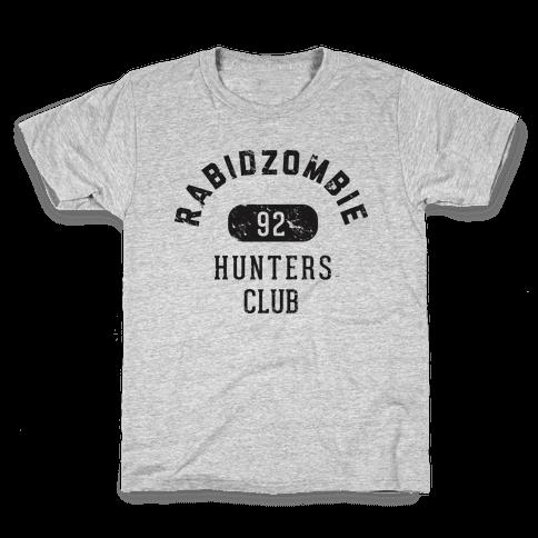 RabidZombie Hunters Club Hoodie Kids T-Shirt