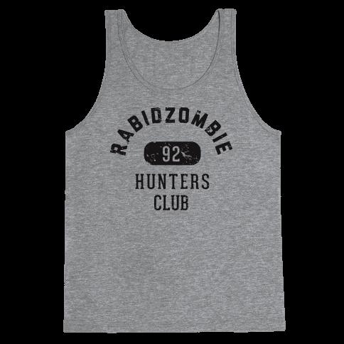 RabidZombie Hunters Club Hoodie Tank Top