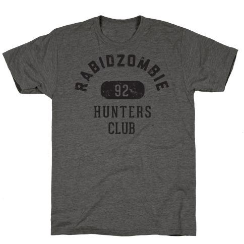 RabidZombie Hunters Club Hoodie T-Shirt