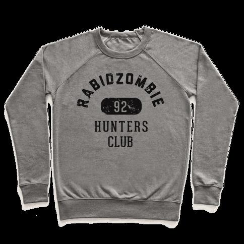 RabidZombie Hunters Club Hoodie Pullover