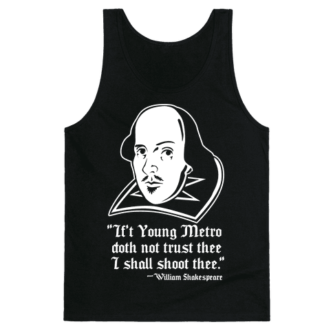 If Young Metro Shakespeare Tank Top