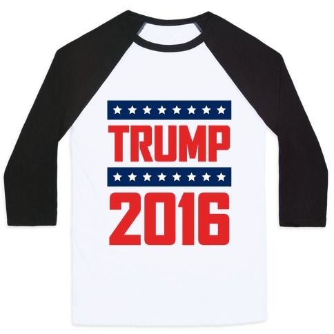8354e442 Donald Trump Baseball Tees | LookHUMAN