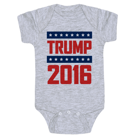 Donald Trump 2016 Baby Onesy