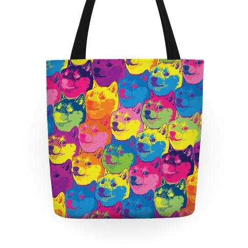 Pop Art Doge Tote