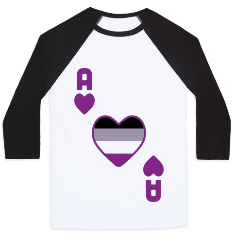 Ace Of Hearts Baseball Tee