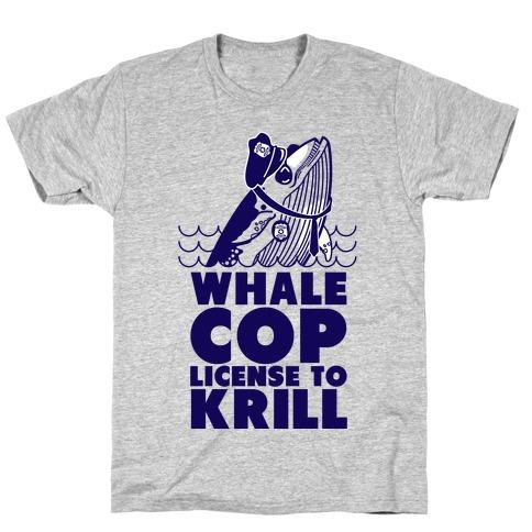 Whale Cop T-Shirt