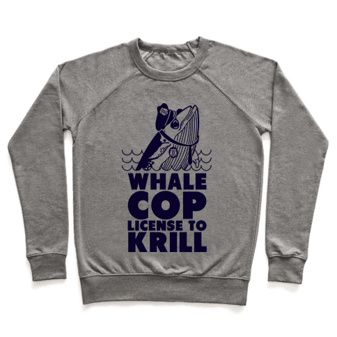 Whale Cop Pullover
