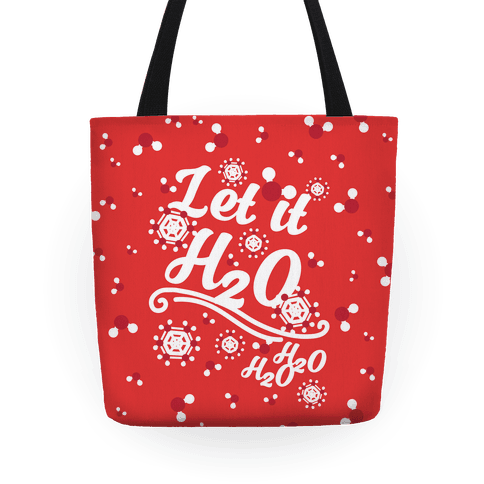 Let it H2O Tote