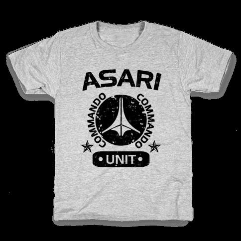Asari Commando Unit Kids T-Shirt