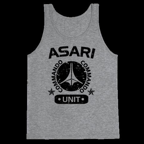 Asari Commando Unit Tank Top