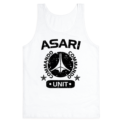 Asari Commando Unit Tank Top