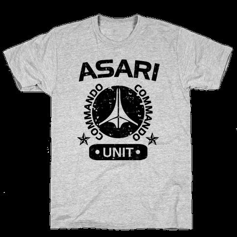 Asari Commando Unit Mens T-Shirt