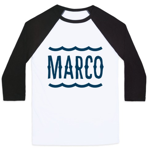 marco polo marco baseball tee lookhuman. Black Bedroom Furniture Sets. Home Design Ideas