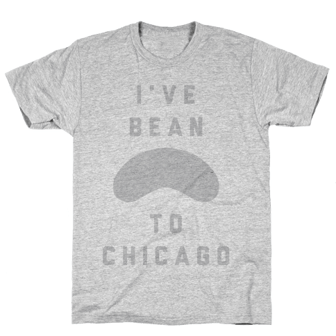 I've Bean To Chicago Mens T-Shirt