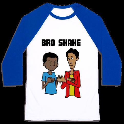 Bro Shake Baseball Tee