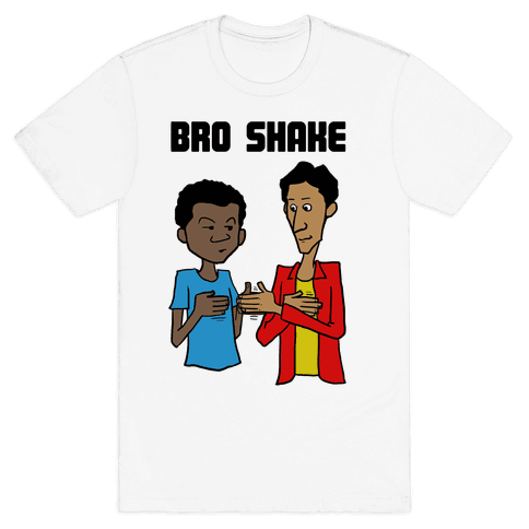 Bro Shake Mens T-Shirt