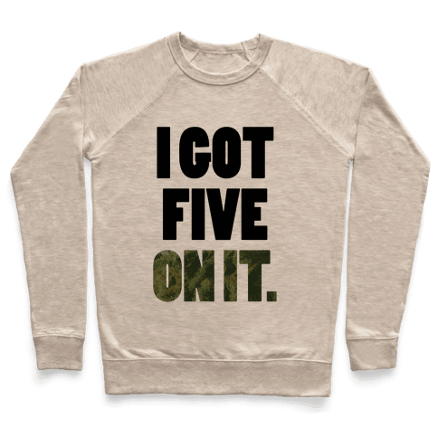 Five On It Pullover