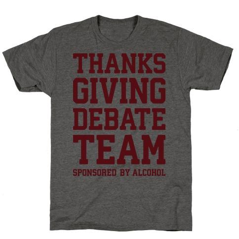 Thanksgiving Debate Team T-Shirt