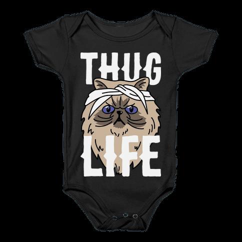 Thug Life Baby Onesy