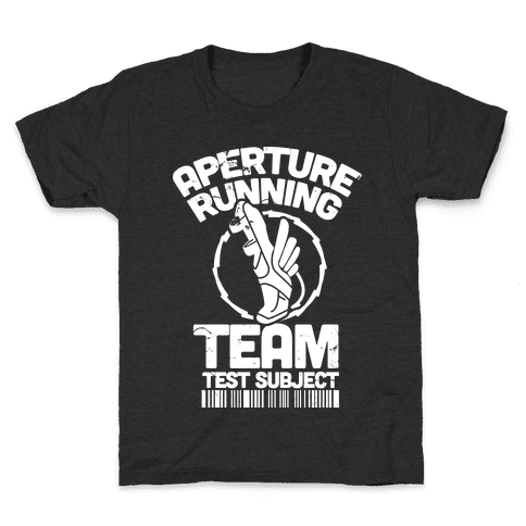 Aperture Running Team  Kids T-Shirt