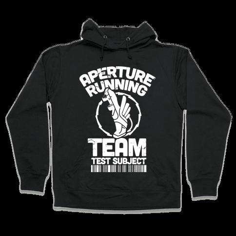 Aperture Running Team  Hooded Sweatshirt