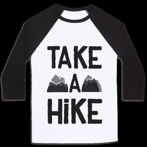 Take a Hike Baseball Tee