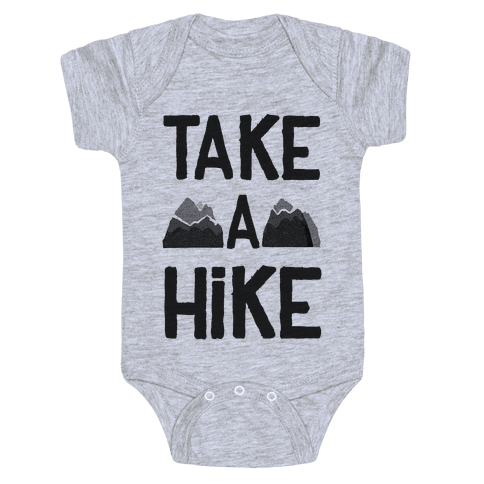 Take a Hike Baby Onesy