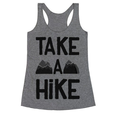 Take a Hike Racerback Tank Top