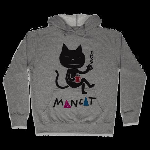 MAN CAT Hooded Sweatshirt