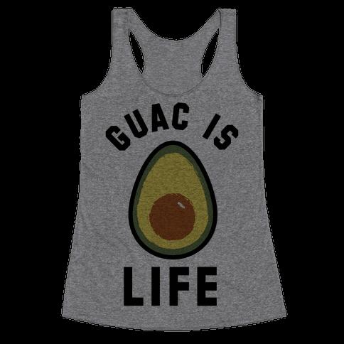 Guac is Life Racerback Tank Top