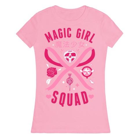 Magic Girl Squad Womens T-Shirt