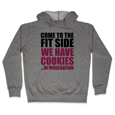 Come to the Fit Side Hooded Sweatshirt