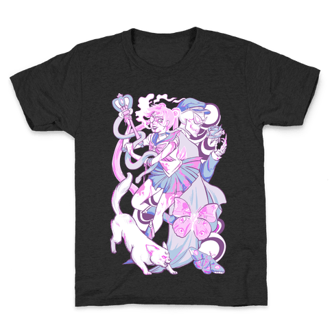 Pastel Horror Senshi Kids T-Shirt