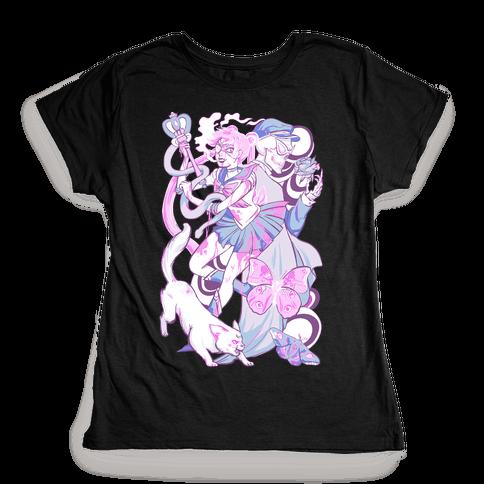 Pastel Horror Senshi Womens T-Shirt