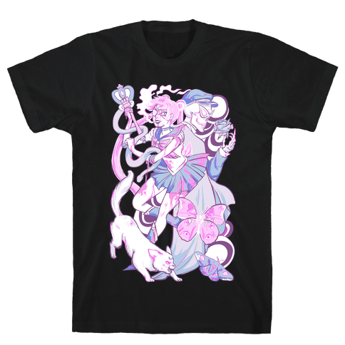 Pastel Horror Senshi Mens T-Shirt