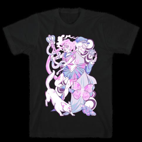 Pastel Horror Senshi Mens T-Shirt