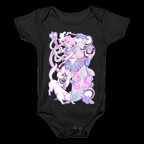 Pastel Horror Senshi Baby Onesy