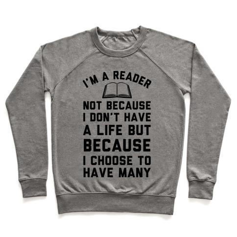 I'm A Reader Pullover