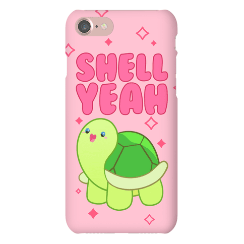 Shell Yeah Cute Turtle Phone Case