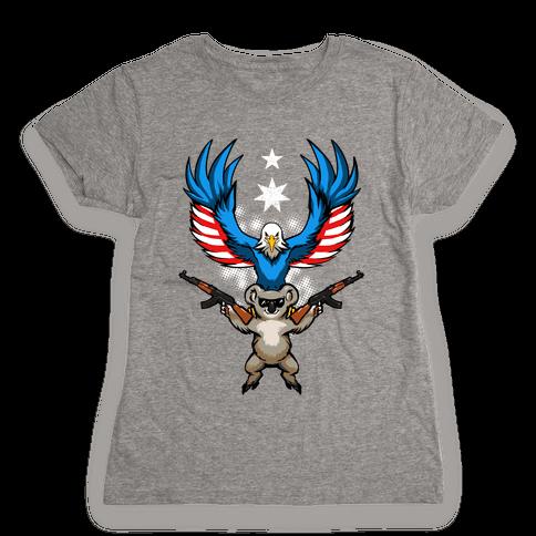 Ameristralia: TASTE THE FREEDOM Womens T-Shirt