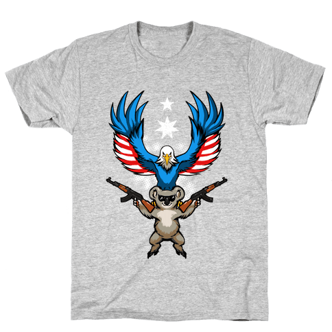 Ameristralia: TASTE THE FREEDOM Mens T-Shirt